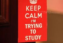 Time to Study! / It's that time!  Heck, it's pretty much **always** that time!!!!