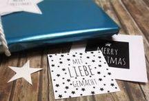 Free printables / Weihnachten | Christmas / Hier findet ihr tolle Freebies für die Weihnachtszeit!
