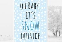 Free printables / winter