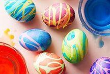 Ostereier färben und verzieren / Ideen und Anleitungen, wie Ostereier selbst verziert und gefärbt werden können