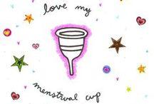 Menstrual cups / www.greengirlstuff.co.nz