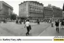 Karlovy Vary, 1989 / Karlovy Vary, Foto Pavel Dolejš, fotoaparát Horizont.