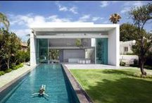 Private Villa with huge windows / An Apexfine sliding door 13 meters long and 5,5 meters high