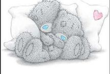 Coloring pages - Tatty Teddy / by Maryjo Sellars