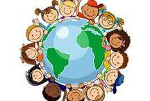 Sunday School - Children of the World / by Maryjo Sellars