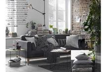 Loft Living / Presenting city living and decor with that urban, rougher edge to it. Provided by Stockmann.