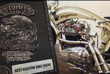 """Inspired / Tahun ini adalah tahun yang menggembirakan bagi kami INSPIRED27 dan INSPIRED27 Custom Garage. Custom Bike dengan nama """"Inspired"""" ini memerlukan proses yang panjang dan rumit, baik dalam proses building dan proses penilaian di Kustomfest 2015 Jogja. Tahun 2015 ini kita mendapatkan 5 Juara, yaitu: • Chopper Journal's Pick • Best Custom Bike Show • Custom Works Zon's Pick • Wild Motorcycles Pick • Runner Up Kustom Bike Show (FFA)"""