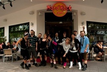 Our staff @ Hard Rock Berlin