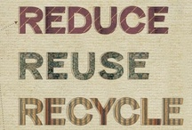 RE-DESIGN / reduce, reuse, recycle, rethink, remake, redesign it