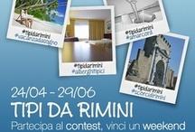 #tipidaRimini / Contest fotografico di Rimini Web Tv che mette in palio tredici weekend gratis negli alberghi tipici di Rimini. Per tutte le info vai su: https://www.facebook.com/webtvrimini/