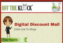 Off The Klock Digital Mall / Off The Klock's Digital Discount Mall publishes digital works spanning all topics that interest you. Download free reports and digital works at deep discounts.
