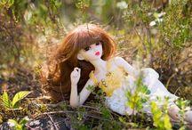Bjd dolls (my girls) / My favorite, beautiful bjd dolls