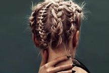 Renaissance Fair Braids / Ageless, timeless braids, long, short, up lifted or hanging down make a stunning impact with or without a Renn Fair costume