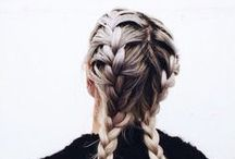 hair // braids, updo & tails