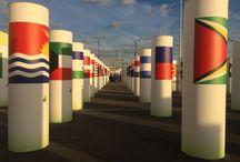 COP21 / Sur le site de la #COP21 au Parc des expositions du Bourget.