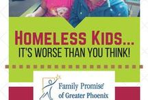 Homeless Kids / The average age of a homeless person in Maricopa County is 9 years old. What are we going to do to change that?