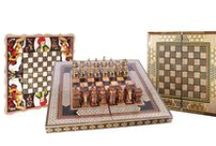 Chess and Backgommon sets / In this board you can find remarkable #artistic masterpiece of our #Khatam #playboards!