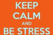 Stress Awareness / April is Stress Awareness Month! Here are some tips and tricks to noticing and fighting the signs of stress!