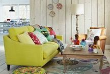 Dream Home / Inspiration for my dream home - filled with colour and things but still calm and homey
