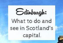 Edinburgh / Edinburgh visit, trip to, what to do in Edinburgh