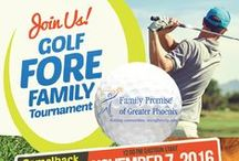 2016 Golf Fore Family Charity Tournament / Join us on Monday, November 7th, for a fun golf tournament benefiting homeless families, at the Camelback Golf Club Ambiente Course! It'll be a Hole in One!