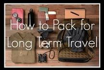 Travel / packing when traveling