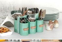 Kichen ideas and DIY / Ideas for the kitchen. Lots of DIY and storage ideas but also things to buy