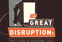 Digital Disruption / How industries are transformed and even disrupted by digital innovations #digitaltransformation #disruption