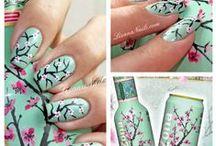 Decoración de uñas / Todas la decoraciones de uñas que me gustan