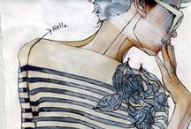 Fashion illustration, inspiration, ideas / by macarena herreros