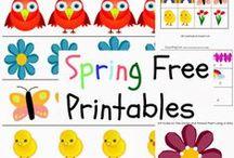 Free Printables for kids / Free printables for kids