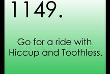 My Fictional Bucket List / Who says fairytales don't come true