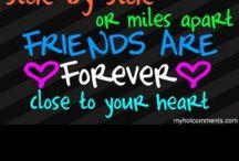 A one true friend / Best friends forever