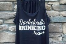 Apparel / Customized Bride, Bridesmaid, Maid of Honor Tank tops and t-shirts!