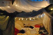 Forts / Time to Hide Sleep And pretend to be a indian that lives in a tepee