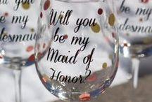 Bridesmaid Proposals / Great ways to ask your Bridesmaids to be apart of your wedding! Bridesmaid proposals. Ask your Bridesmaids. Be my Bridesmaid?