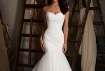 Say yes to the dress / Wedding dresses, white dresses, wedding gowns.  Wedding inspiration