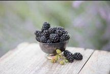 black- &  blueberries ...