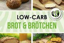 Low Carb Brot und Brötchen / Hier findet ihr leckere #lowcarb Brot und Brötchen