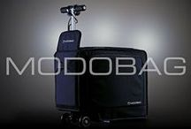Modobag / The World's ONLY Motorized, Smart, Connected Carry-on Luggage!