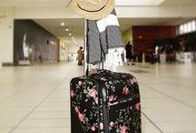 Elephant Stripes Travel Bags / Elephant Stripes boutique beautiful luggage, duffels and travel packs available at www.elephantstripes.com.au