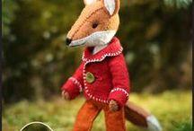 Lis - przytulanka tekstylna