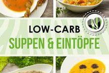Low Carb Suppen und Eintöpfe / Ihr findet in dieser Pinnwand lowcarb Suppen und EIntöpfe von www.schwarzgrueneszebra.de
