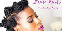 Protective hairstyles / Protective styles are a way to protect your hair from daily manipulation, breakage and to protect your hair from the elements.   Using protective styles helps with hair growth, to prevent breakage as well as with keeping it healthy.