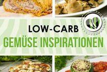 Gemüse Inspiration / Viele Low Carb Rezepte Rund um das Gemüse