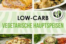 Vegetarische Low-Carb Hauptspeisen