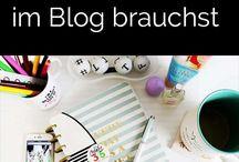 Bloggen / Tipps und Tricks für Blogger