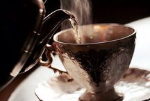 Tea / A hot drink made by infusing dried, crushed leaves of a tea plant in boiling water.