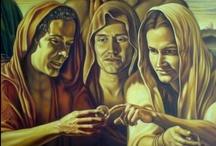 Renaissance Themes  / My interpretation of classic Renaissance themes. Oil on canvas.