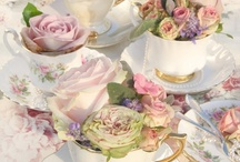 tea parties ♥ cake ♥ cookies ♥ Gardens / High Tea, Lace, Flowers, Roses, Peonies, Pink, Blush, Creams, White, Champagne, Crystal, Porcelain, Cakes, Dainties, Pastries, Cupcakes, Gum past, Royal Icing, Butter Cream Icing, Decoration, Wedding Cakes, Ruffles and Lace. Garden Tea Parties. Cookies, Tea Spoons  / by ♥ sweet adeline ♥